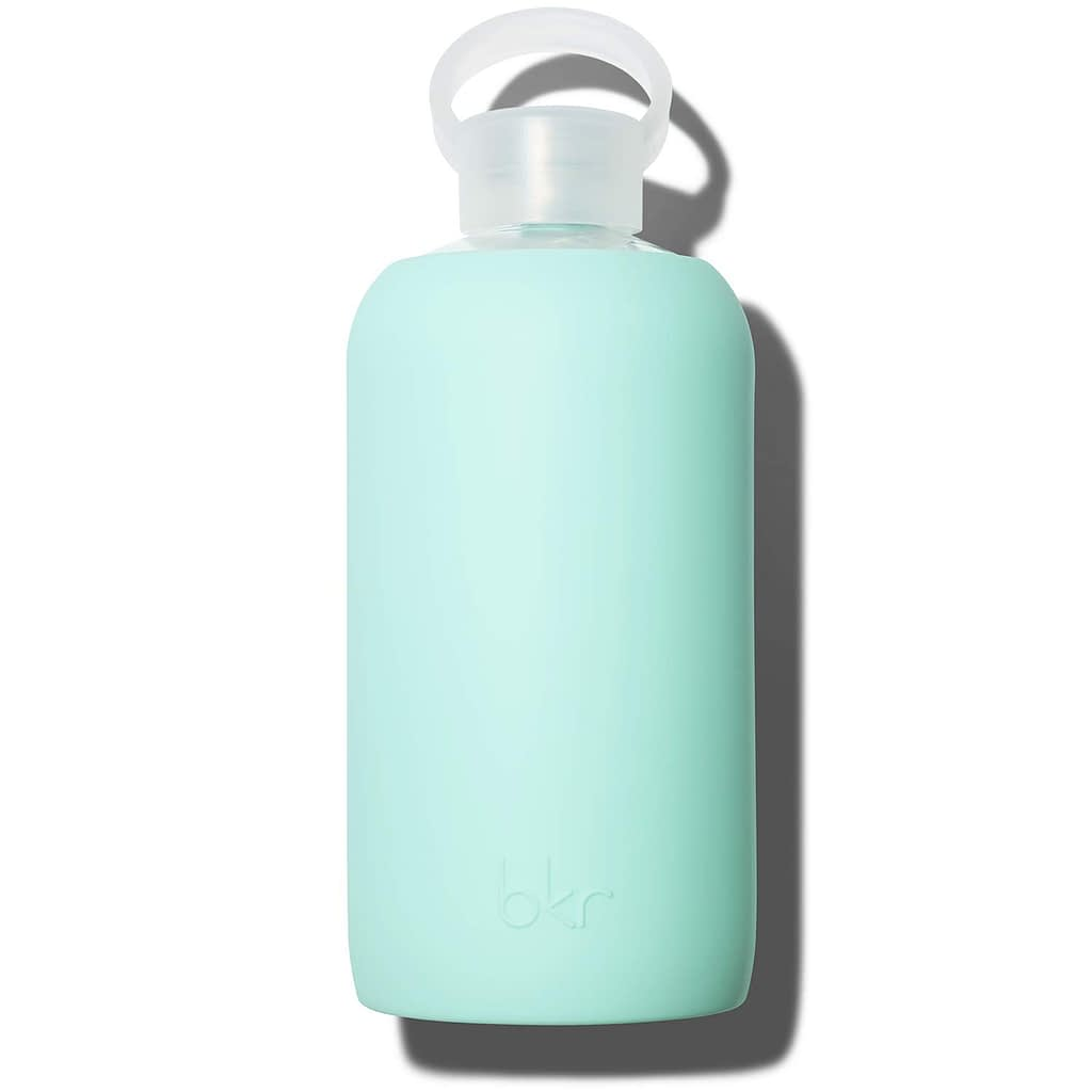 BKR 32 oz Luxury BPA Free Glass Water Bottle