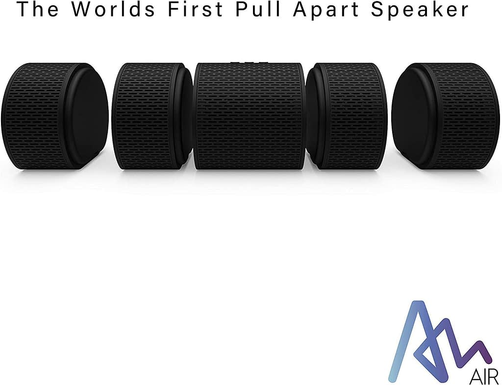 Air Audio The World's First Pull-Apart Wireless Bluetooth Speaker