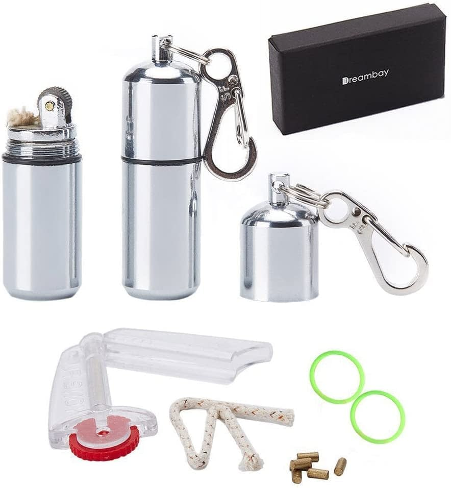 Dreambay EDC Waterproof Lighter Set