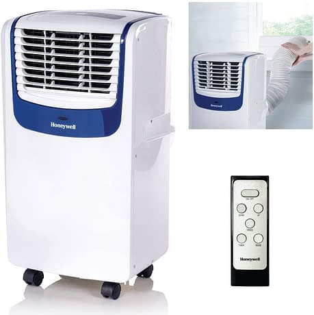 Honeywell MO08CESWB Compact 3-in-1 Portable Air Conditioner