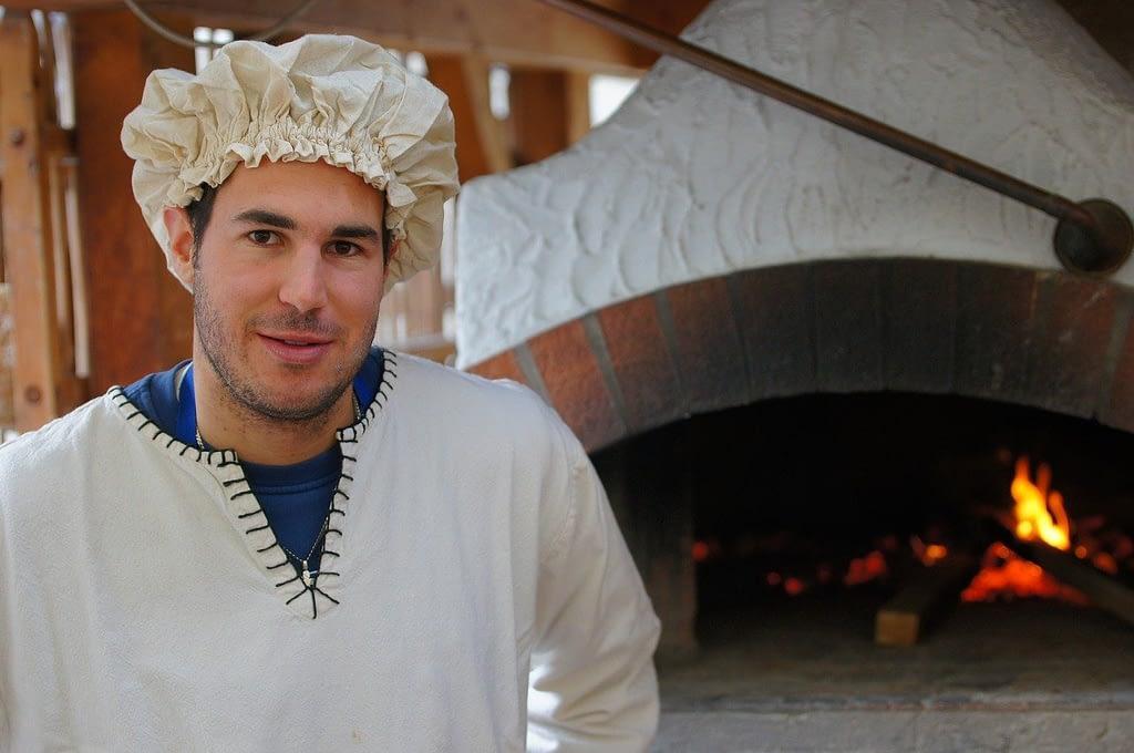 baker, man, portrait