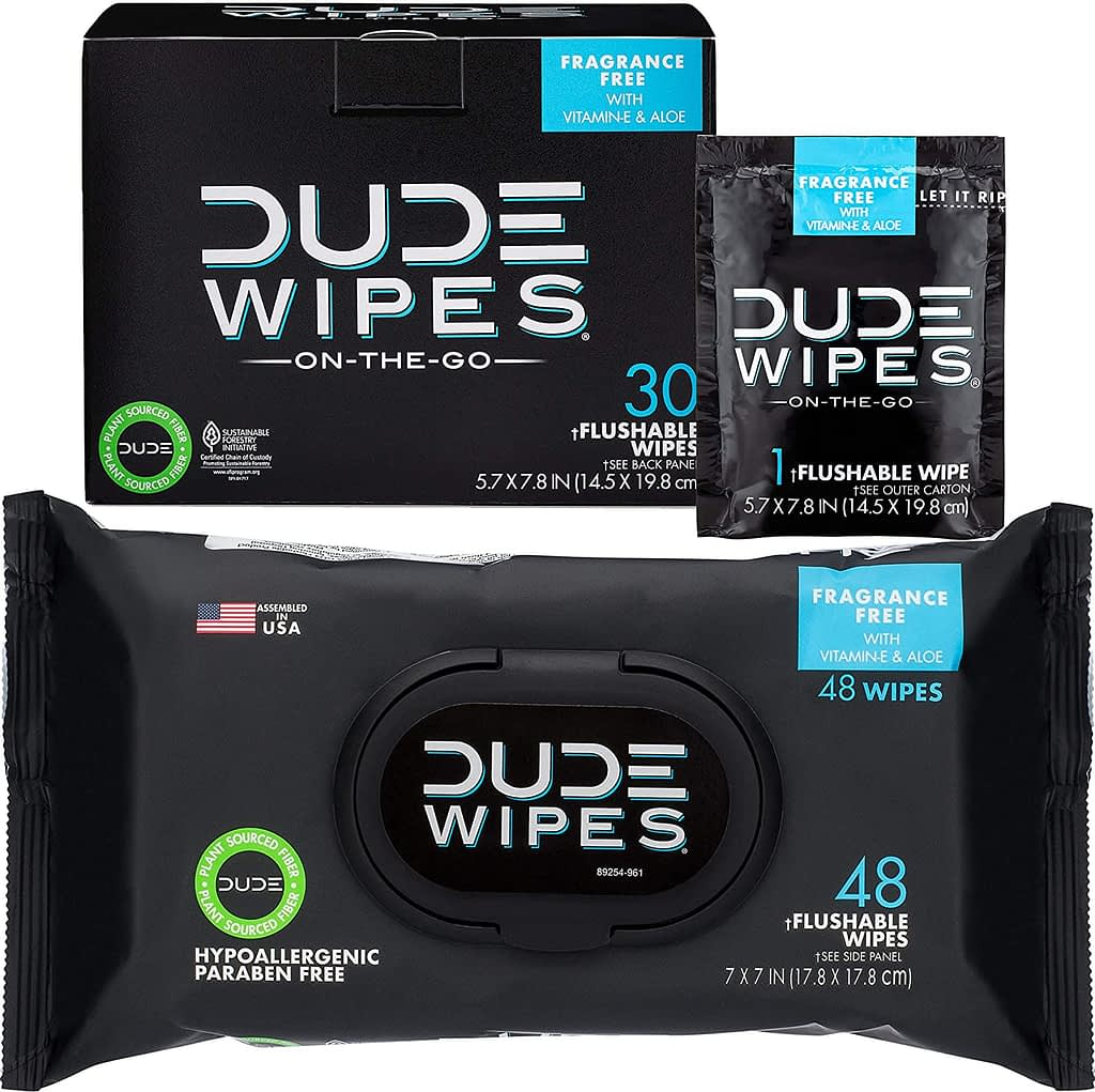 Dude Wet Wipes