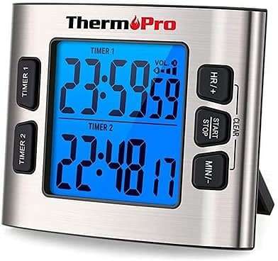 ThermoPro TM02 Digital Kitchen Timer