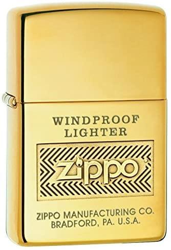 Zippo Brass Pocket EDC Lighters