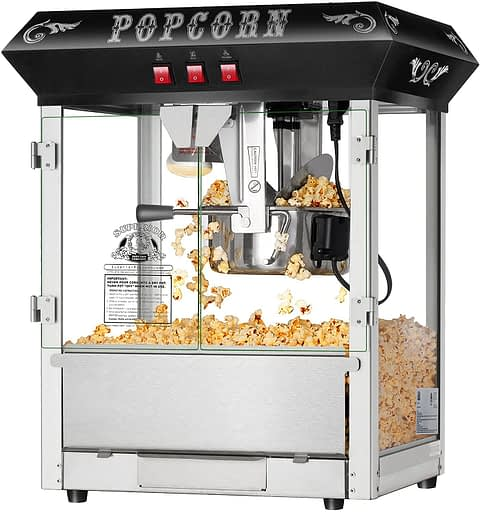Hot and Fresh Countertop Style Popcorn Popper Machine by Superior Popcorn Company