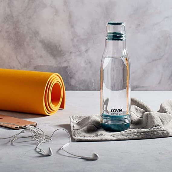 Rove 17 oz Glass Water Bottle