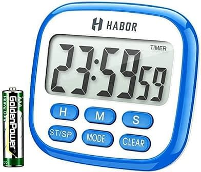 Habor Kitchen Timer, 24-Hours Digital Timer