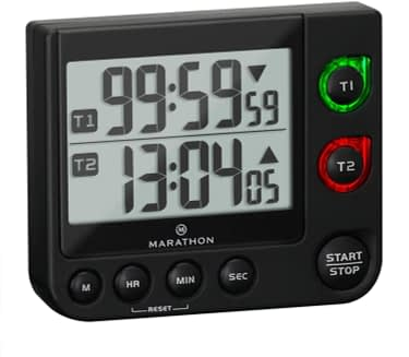 Marathon Dual Timer with Large Display