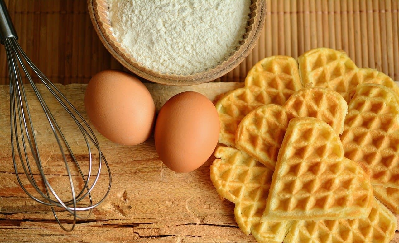 waffles, waffles bake, ingredients