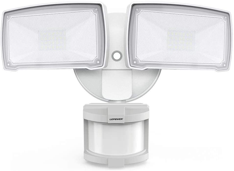LEPOWER 28W LED Security Lights Motion Sensor Light