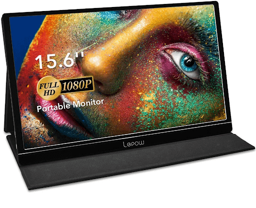 Lepow 15.6 Inch IPS Portable Monitor