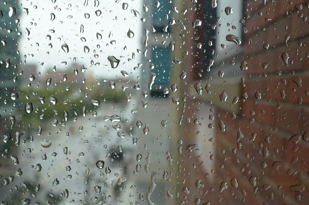raindrops, clean, water
