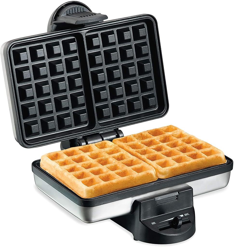 Hamilton Beach 2-Slice Non-Stick Belgian Waffle Maker